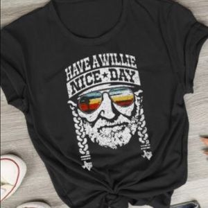 Women's Willie Nelson T-shirt